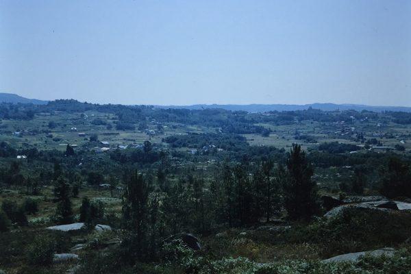 Vista dende o monte da Chaira
