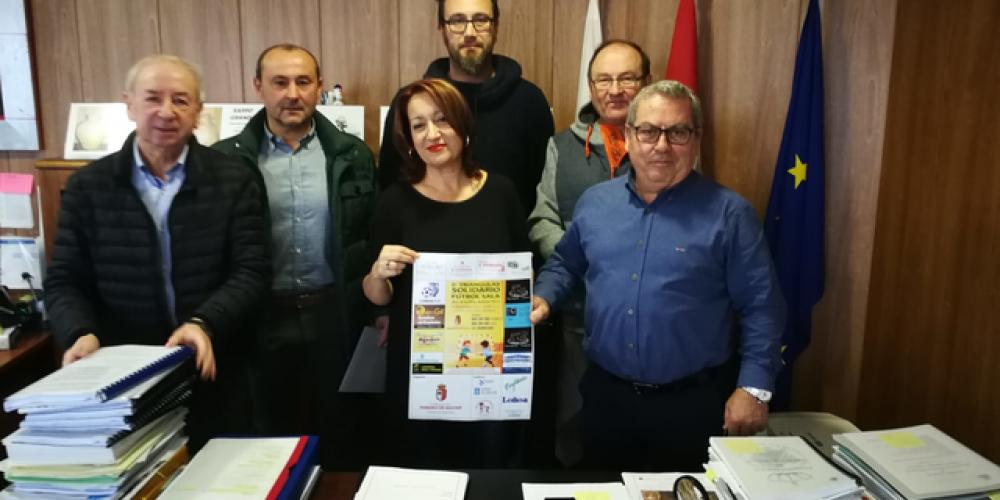 Presentación do I Triangular solidario Pereiro de Aguiar